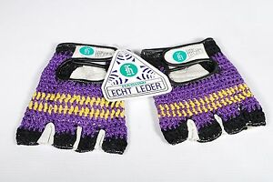 Bicycle Gloves Hashmi Crochet Retro Cycling Gloves Size XS