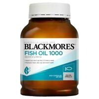 Blackmores Fish Oil 1000mg 400 Capsules Omega-3 300mg EPA DHA Eye Brain Health