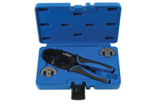 Laser Tools 7002 Soft Grip Ratcheting Crimping Pliers Tool Supaseal Connectors