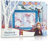 Disney Frozen 2 Magnetic Scribbler, Drawing Boards For Kids With Elsa and Anna