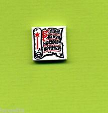 Lego--3068bp40--Fliese-Kachel--2 x 2 ----Bedruckt--Rolle-Buch--Blätter-