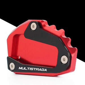Ducati Multistrada 1200 S/GT 1260 950 Side Kickstand Stand Extension Plate Pad