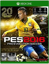 NEW Pro Evolution Soccer PES 2016 (Microsoft Xbox One, 2015)