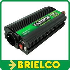CONVERTIDOR INVERSOR TENSION 12VDC A 220VAC USB 5VAC 600W MECHERO PINZAS BD6585