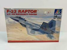 Sealed Italeri 1:48 Scale F-22 Raptor Us Air Fighter Jet Model Airplane Kit 850