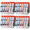 For Canon BCI-6 BK C M Y PC PM Ink Cartridges i900d i9100 i950 i960 - 24 Pack