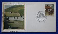 "Ireland (513) 1981 Land Law Act Colorano ""Silk"" FDC"