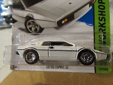 Hot Wheels Lotus Esprit S1 James Bond 007 The Spy Who Loved Me White