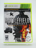 Battlefield Bad Company 2 Xbox 360 Game W/Manual Tested Free Shipping