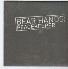 (FG340) Bear Hands, Peacekeeper - 2014 DJ CD
