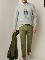 """GENUINE"" RALPH LAUREN Grey Polo Bear Sweatshirt ""RRP £105""  ""ALL SIZES"""