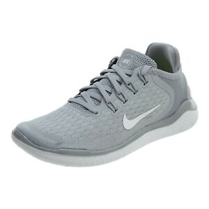 WMNS Nike Free RN 2018 Running Shoes SZ 5 Wolf Grey  White - 942837 003 NEW!