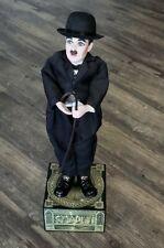 Enesco Charlie Chaplin Stars Silver Screen Limited Ed Musical Automata Doll #298