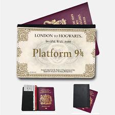 Harry Potter billet de Train Porte-passeport Voyage protection Flip cover case