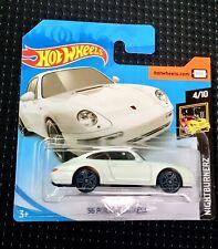 🏁 Hot Wheels 2019 '96 Porsche Carrera - Short Card 🏁