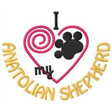 "I ""Heart"" My Anatolian Shepherd Fleece Jacket 1429-2 Size S - Xxl"