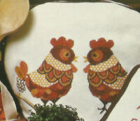 Mexican Chickens Cross Stitch Pattern Leaflet Samplers More Vanessa-Ann designs