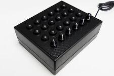 BBJ Sim Racing PC USB 30 BOX pulsante Function Pro encoder rotativo nero/carbon