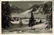 Ehrwald Österreich Tirol AK 1939 Winter Schnee Landschaft Zugspitze Dorf Häuser