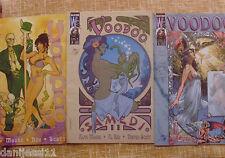 Voodoo Comics, nº 1, 3 y 4, Planeta, World Comics, WildStorm, 1999, Alan Moore