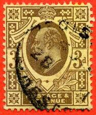 Sg. 285. M22 (1) E. 3d púrpura en Limón. un buen ejemplo usado.