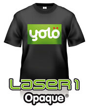 10x A4 Laser 1 Opaque® Photo-Quality Laser Heat Transfer Paper for Dark Fabrics
