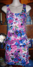 JAY JAYS purple print frill minidress S 8 NWT $20.00!