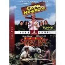 CAMP NOWHERE / BABY: SECRET OF THE LOST LEGEND - NEW!!