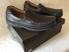 Florsheim Kids ~ Nowles Jr. ~ Brown Slip On Leather Loafer Shoes Boys Size 5 M