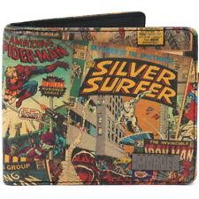 Nuevo Oficial Marvel Comics Clásico Cómic Cartera de Moneda de tarjeta Vintage