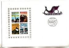c/ Suisse enveloppe bloc 25  tourisme   1987