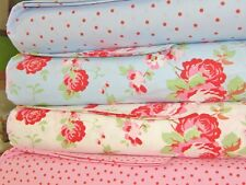 Cath Kidston Patchwork Squares Fabric Bundle Layer Cake 100% Cotton 20cm x 4