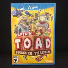 Captain Toad: Treasure Tracker  (Nintendo Wii U, 2014) Brand New / Sealed /
