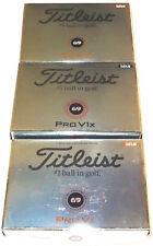 TITLEIST PROV1X & PROV1 '69 LTD' GOLF BALLS 3X12  BRAND NEW IN BOX