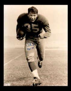 Pete Pihos Hand Signed 8x10 Photo Autograph Eagles