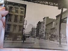 1930 NEW YORK CITY  -  8x10 photo NYC Weat 51 St. & 2nd Av. EL Miller's Hardware