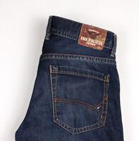 Tommy Hilfiger Herren Wilson Gerades Bein Jeans Größe W33 L28 ATZ1009