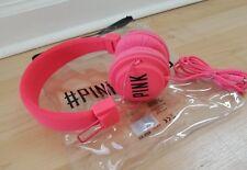 LIMITED EDITION  VICTORIAS SECRET PINK RUNWAY DJ HEADPHONES--NEW