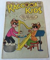 1955 DC Comics ~ RACCOON KIDS #55