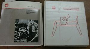 Shopsmith owner's manual + self-study course in 3-ring binders