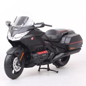 1:12 Welly Big Honda Gold Wing Motorcycle Toy Model Touring Bike Cruiser Matte