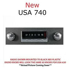 NEW USA 740 68 69 70 71 72 Chevy Nova AM/FM Radio Bluetooth W/Mic USB AUX IPOD