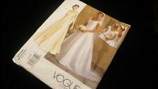 Vogue No. V2788 bridal originaL size 18 20 22 formal dress sewing pattern #JF