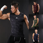 Men's Gym Muscle Sleeveless Tee Shirt Tank Top Bodybuilding Sport Fitness Vest