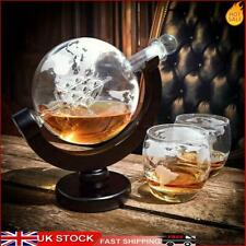 More details for globe wine decanter liquor carafe dispenser for whisky vodka  decanter decor