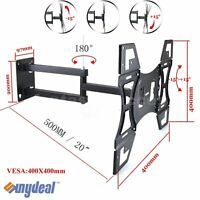 "Swivel Tilt Wall Mount Tilting TV Bracket 32 42 48 50"" LED LCD Plasma Cantilever"