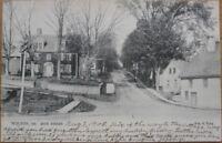 1905 Tuck Postcard - ''High Street - Wilton, Maine ME''