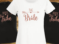 Bride Tribe Hen T Shirt Hen Party Do T-shirt Rose Gold Ladies or Unisex Shirts