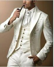 High Quality Mens Wedding Suits Groom Suits Fashion Groomsman Tailcoats Custom