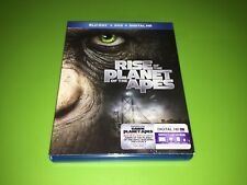 Rise Of The Planet Of The Apes Blu-ray Dvd Set Like New